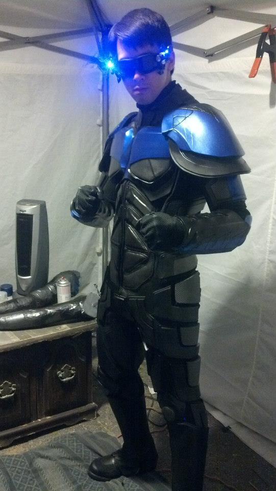 armored nightwing costume  u00ab adafruit industries  u2013 makers