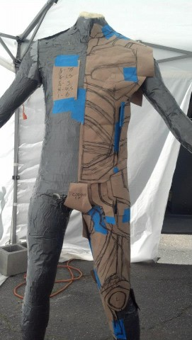 armored nightwing costume 3
