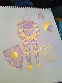 battle queen rapunzel cosplay 3