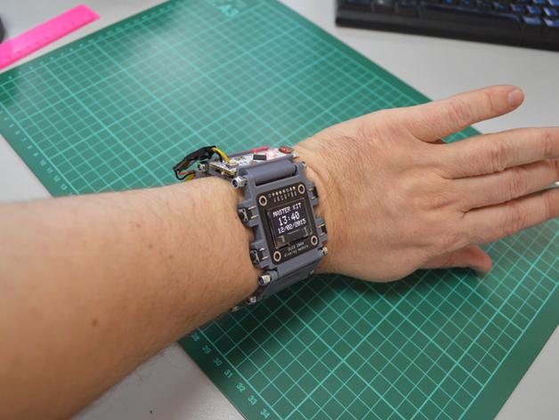 Diy wristwatch dthursday dprinting « adafruit