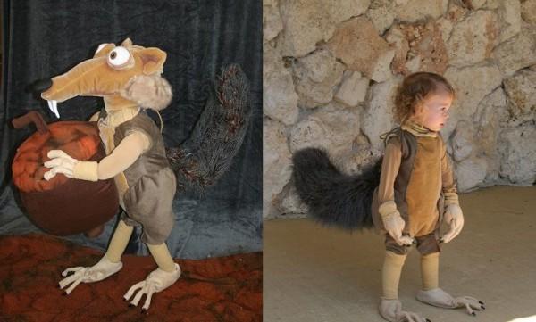 ice age scrat costume
