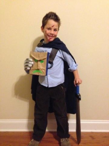 kid ash cosplay