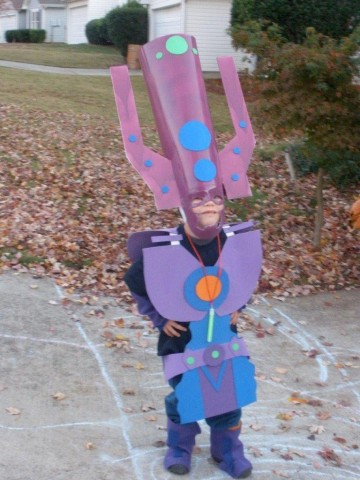 kid galactus cosplay