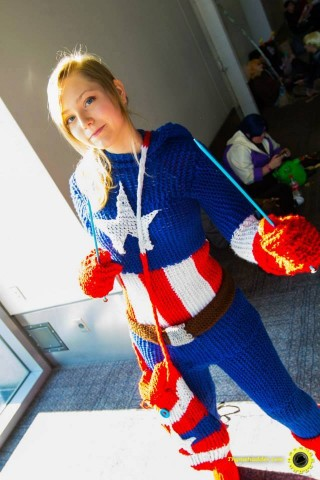 knit captain america costume 1