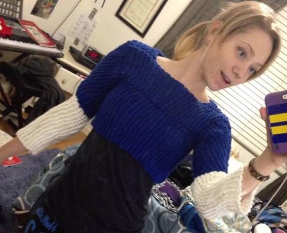 knit captain america costume 2