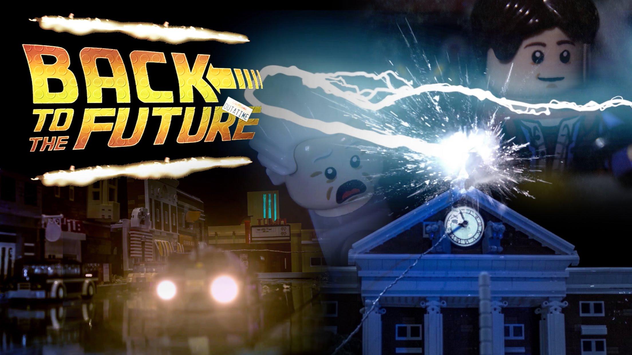 LEGO Back To The Future Remake! #SciFiSunday