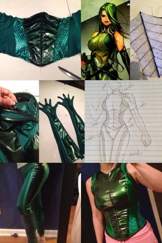 madame hydra costume 2