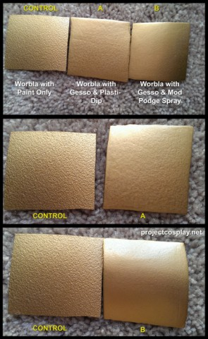 making worbla smooth