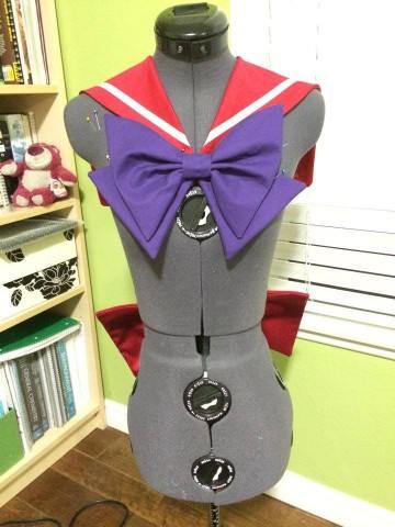 sailor mars cosplay 2
