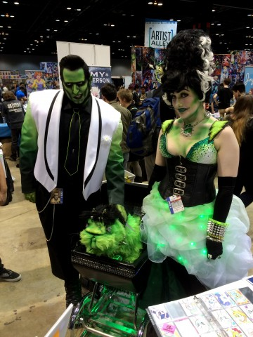 C2E2 Cosplay - Frankenstein's monster's family