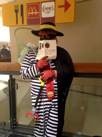 C2E2 Cosplay - Hamburglar
