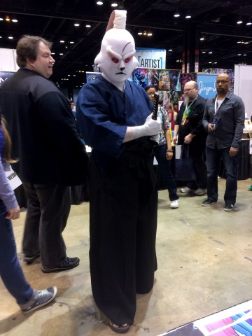 C2E2 Cosplay - usagi yojimbo