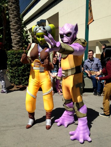Celebration Cosplay - Hera and Zeb
