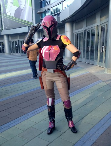 Celebration Cosplay - Sabine Wren