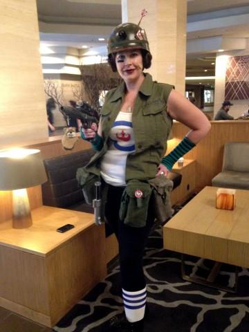 Celebration Cosplay - Tank Girl Leia