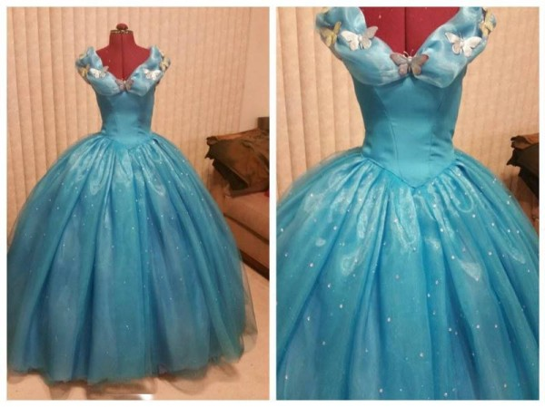 Gorgeous Cosplay of Cinderella's Ball Gown Made from 100 Yards of ...