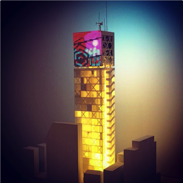 John Szot on Instagram shibuya model installed art institute photo by ikergil
