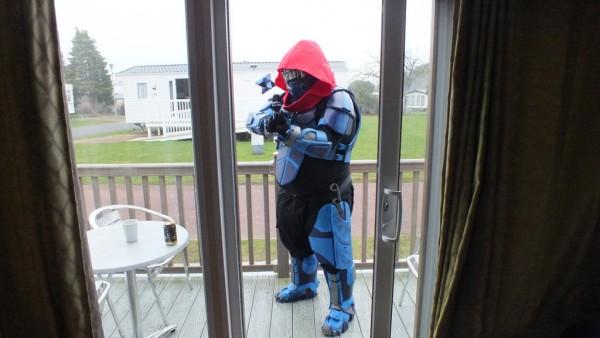 destiny hunter costume 1