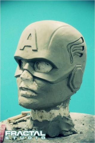 studio fractal captain america