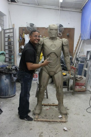 studio fractal iron man