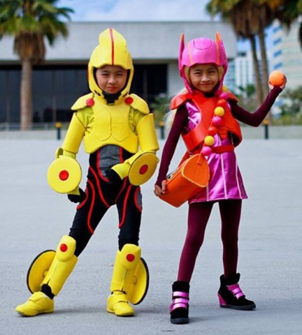 twin kid cosplay 1