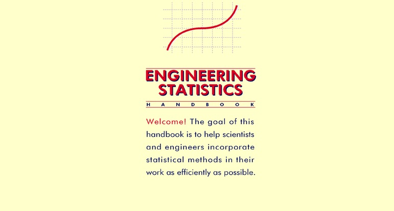 NIST SEMATECH e Handbook of Statistical Methods