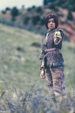 arya stark costume 1