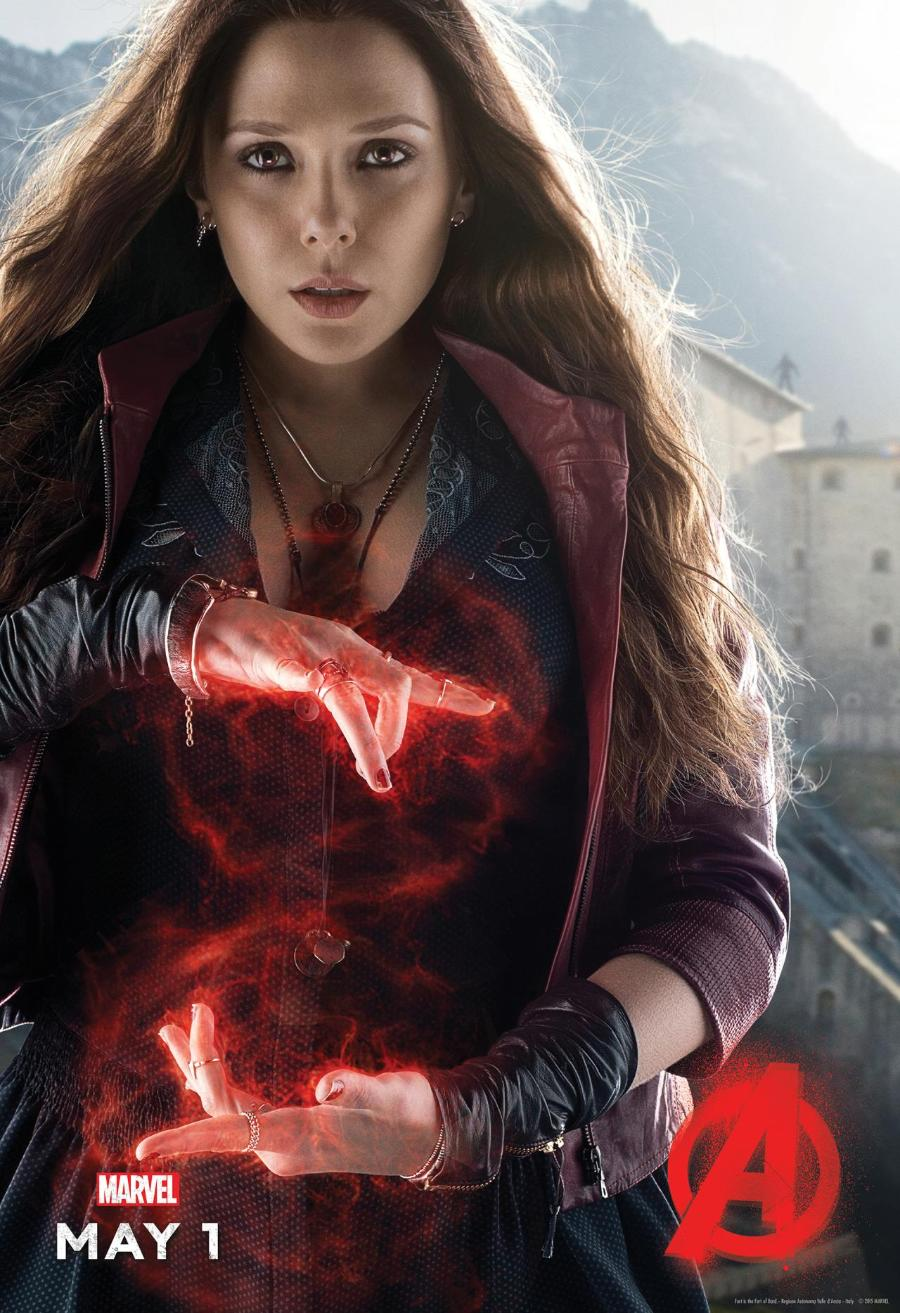 Assembling an Avengers: Age of Ultron Scarlet Witch Costume ...
