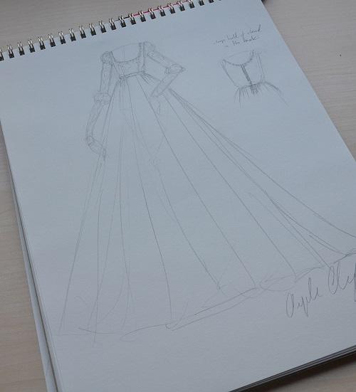 galavant inspired dress 1