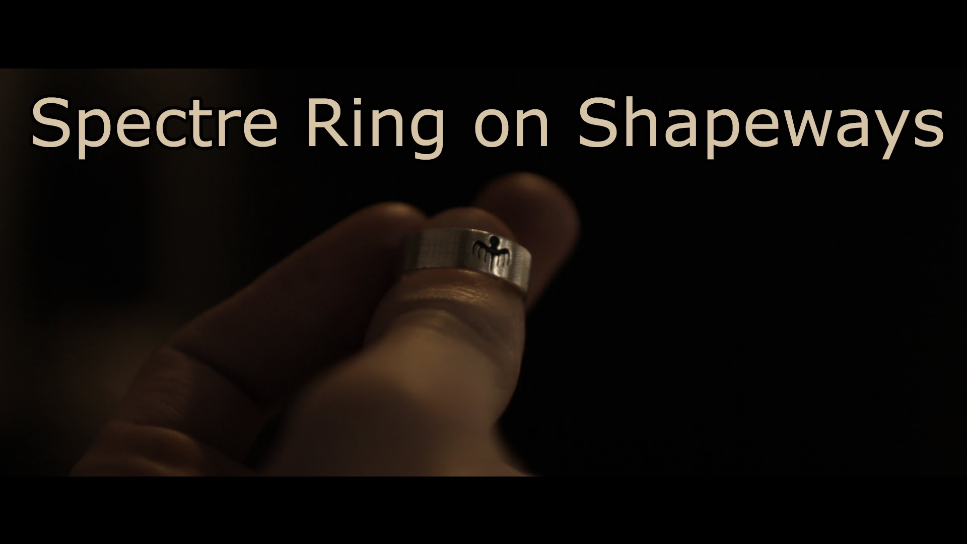 James Bond 007 Ring #3DThursday #3DPrinting « Adafruit
