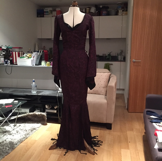 Morticia Addams Costume « Adafruit Industries