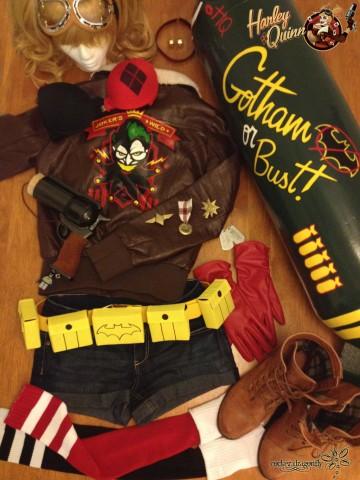 Bombshell Harley Quinn Cosplay 2