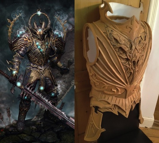 Chaos Knight costume 1