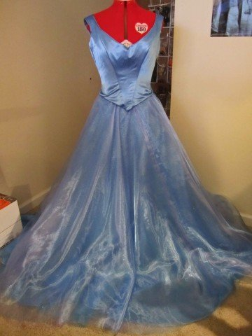 Cinderella ball gown 2