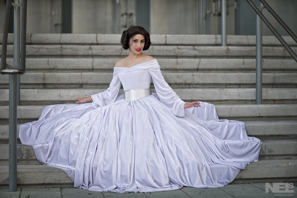 Princess Leia Ball Gown « Adafruit Industries – Makers, hackers ...