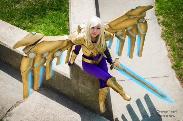 Aether Wing Kayle Costume with LEDs « Adafruit Industries ...