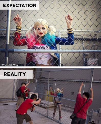 cosplay photography behind the scenes