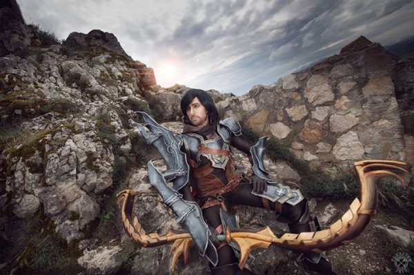 diablo iii demon hunter cosplay 2