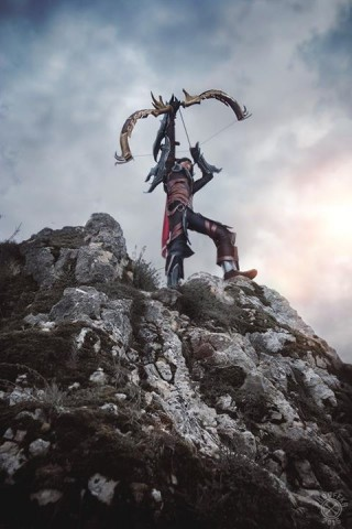 diablo iii demon hunter cosplay 3