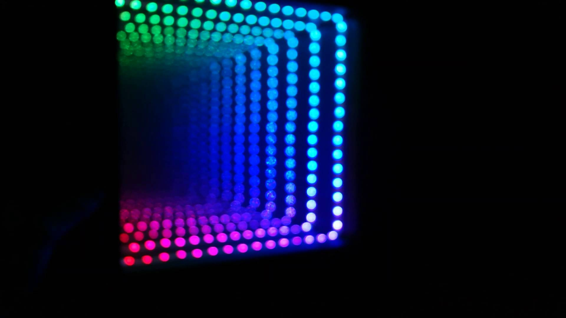 Pi Powered Infinity Mirror Modes Raspberry Piday Raspberrypi Adafruit Industries Makers Ers Artists Designers And Engineers