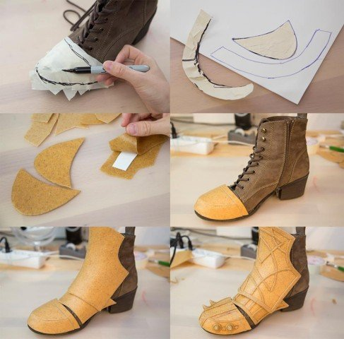 shoe armor tutorial