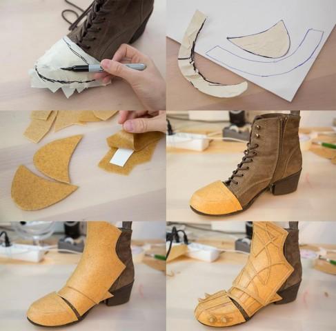 Quick Shoe Armor Tutorial 171 Adafruit Industries Makers