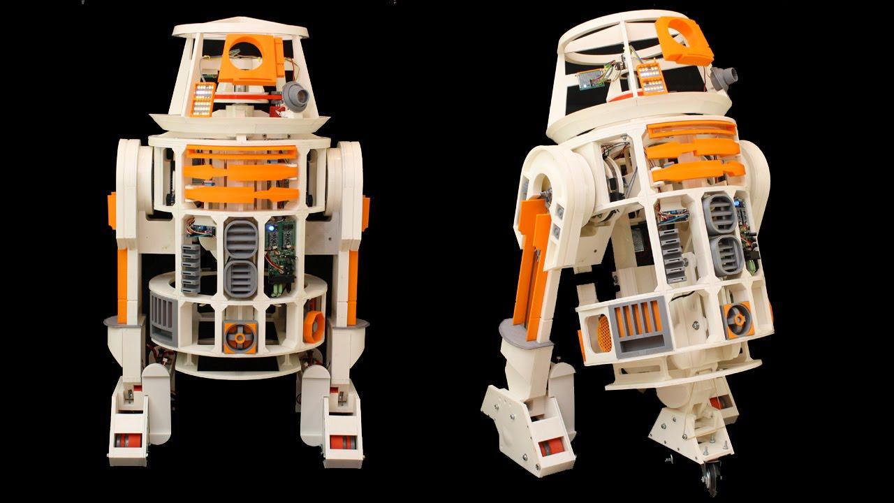 Xrobots d printed star wars r droid part « adafruit