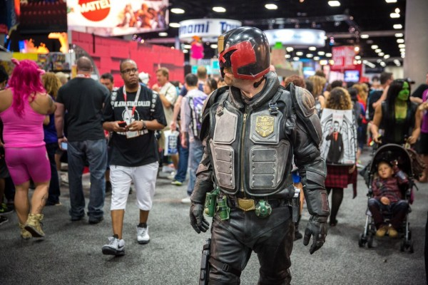 Adam Savage Judge Dredd 1