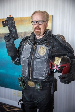 Adam Savage Judge Dredd 2