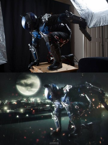 Arkham Knight cosplay 2