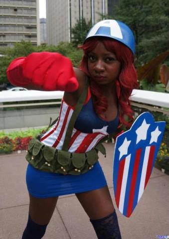 Chaka - Captain America Cosplay
