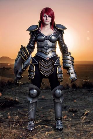 Ironscale Shyvana costume 1