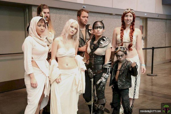 Mad Max Fury Road group cosplay