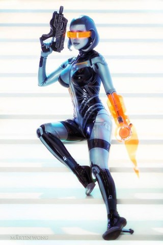 Mass Effect EDI costume 1